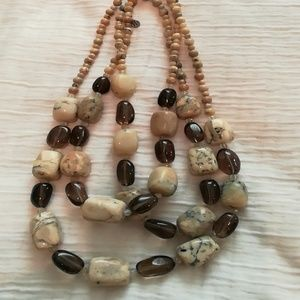 New barse beaded necklace